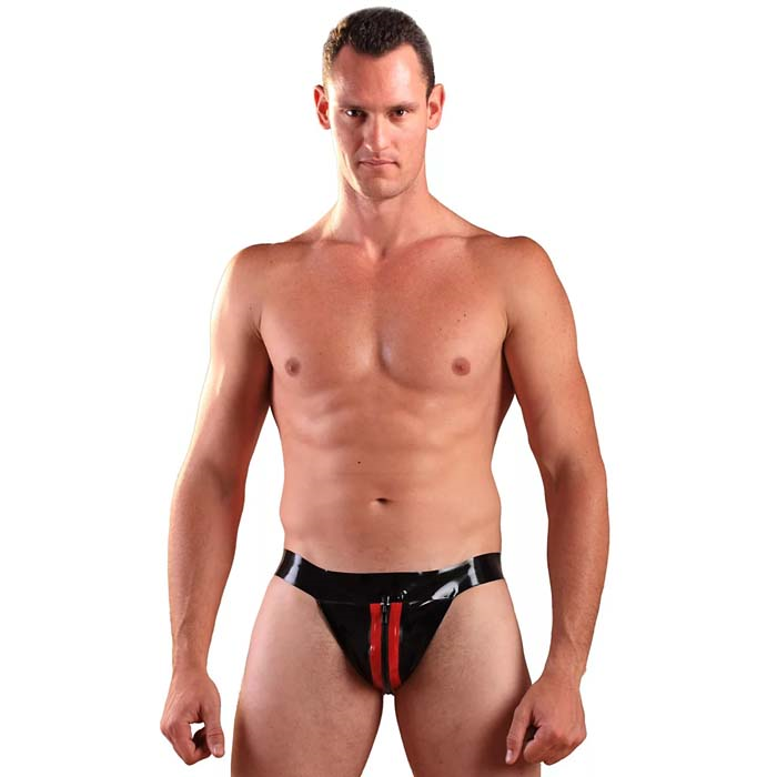 Honour Latex Jockstrap Zip