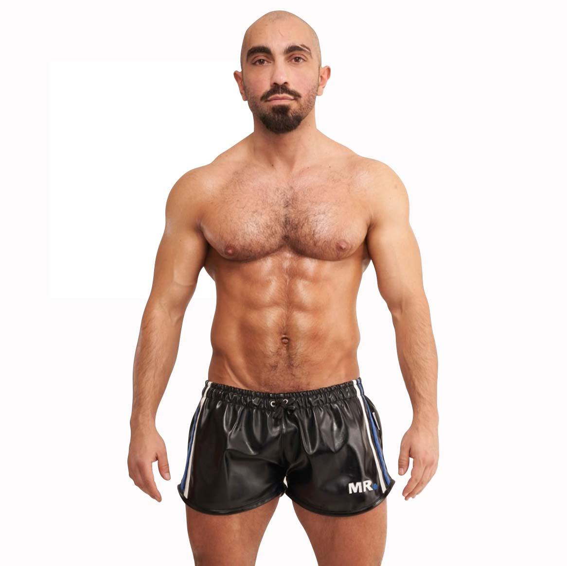 Mr.B Riegillio Imitert Skinn Shorts
