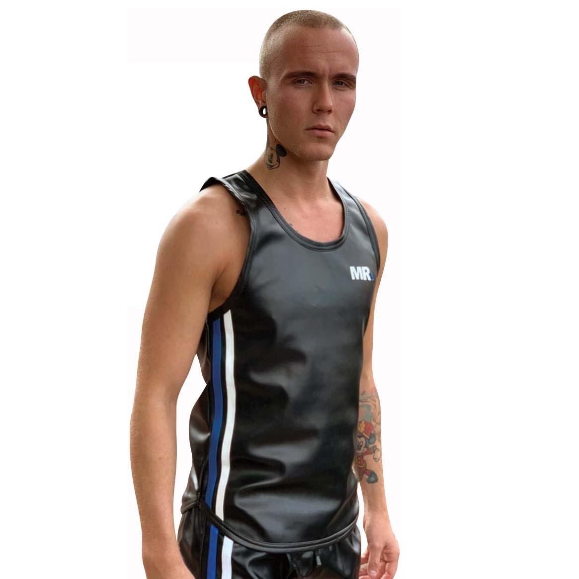 Mr.B Riegillio Imitert Skinn Tank Top