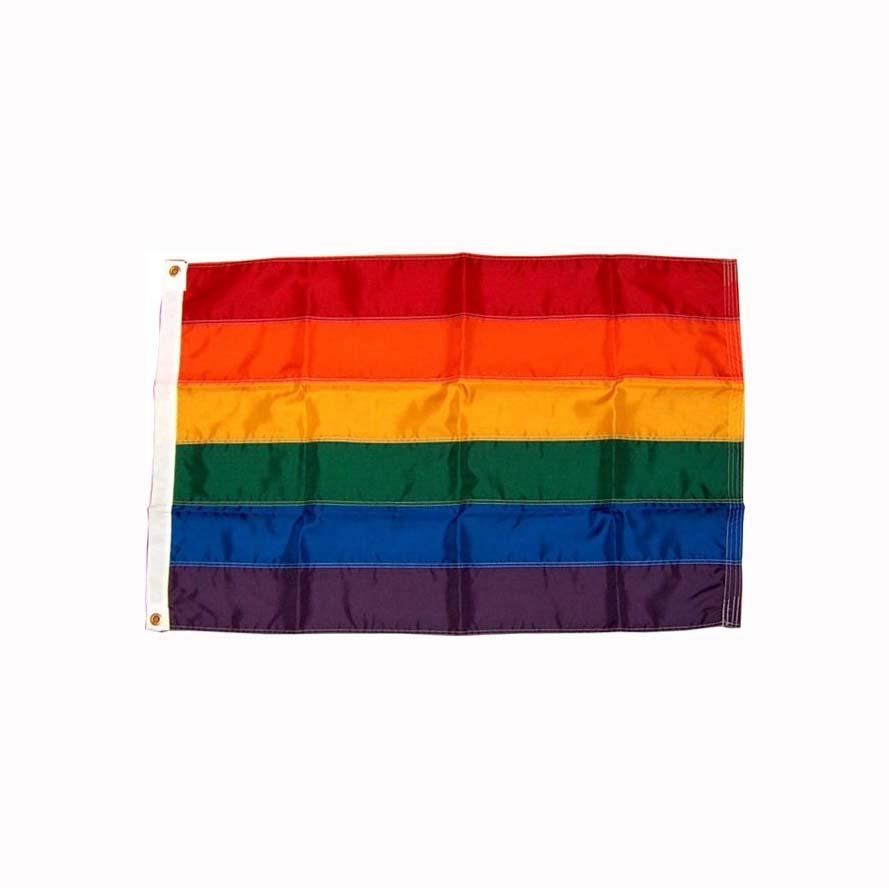Regnbueflagg 120 x 180 cm