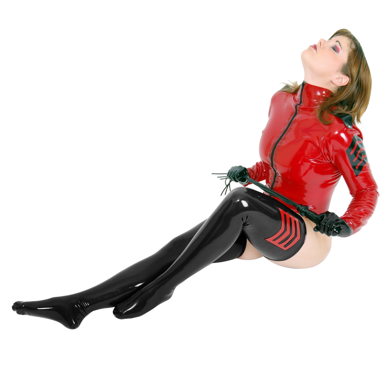 Latex Strømper Uniform