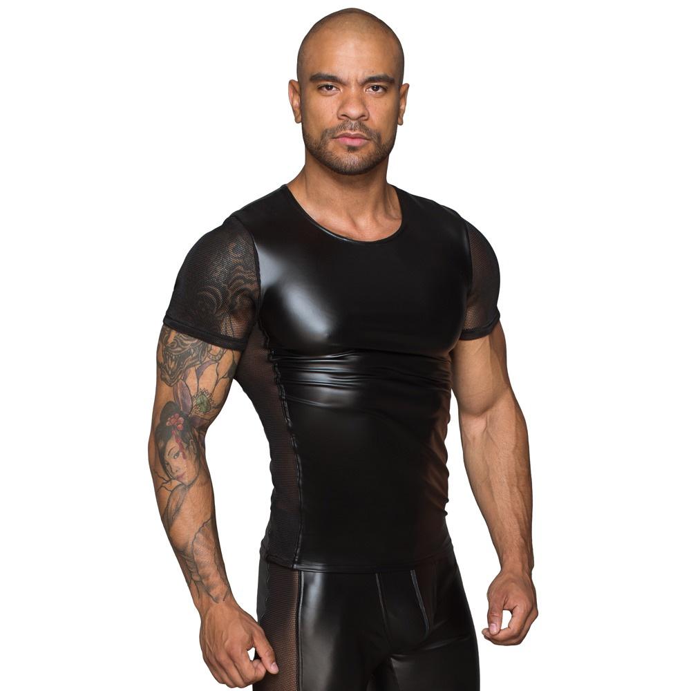 Damon T-skjorte Wetlook Noir