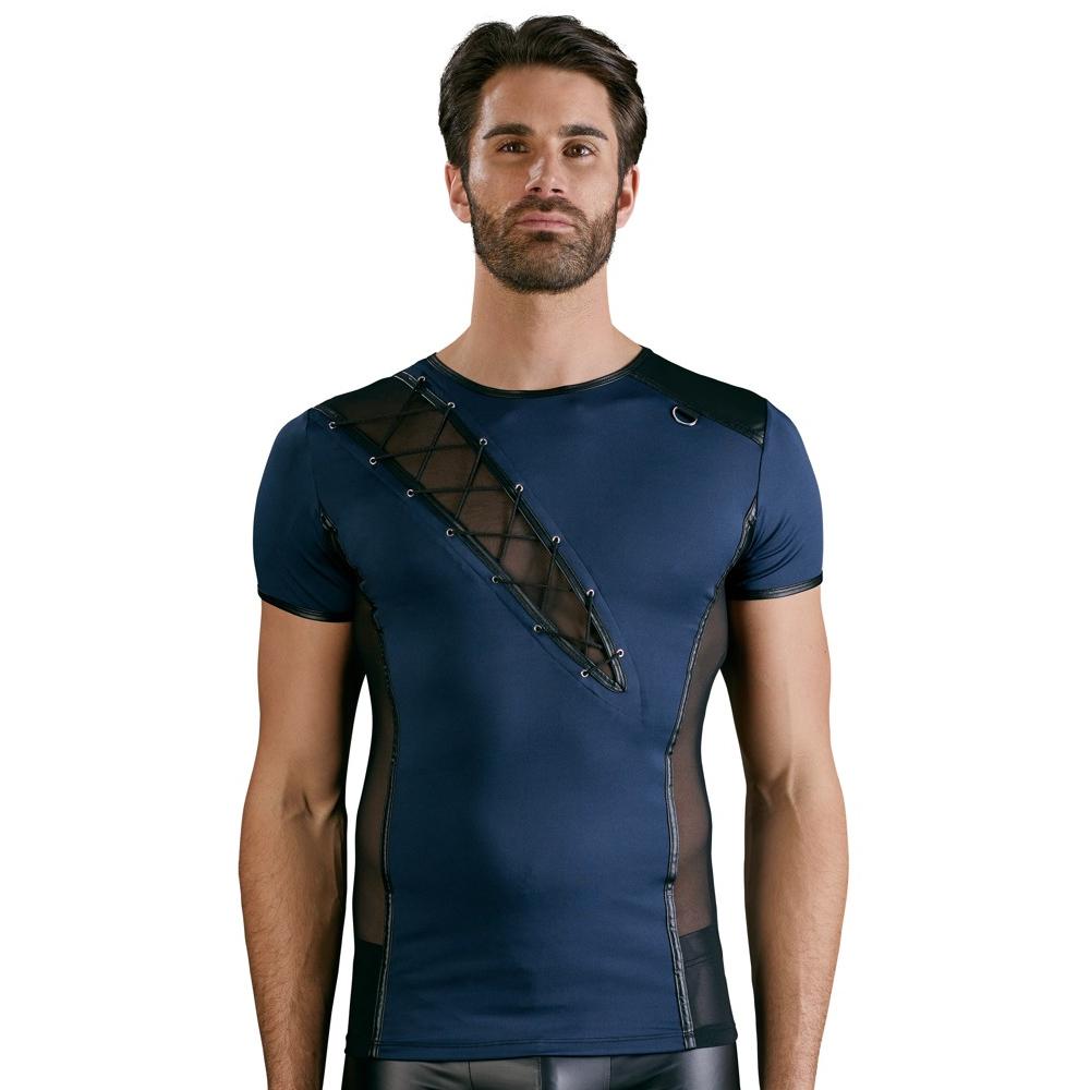 Antonio T-skjorte Blå/wetlook*