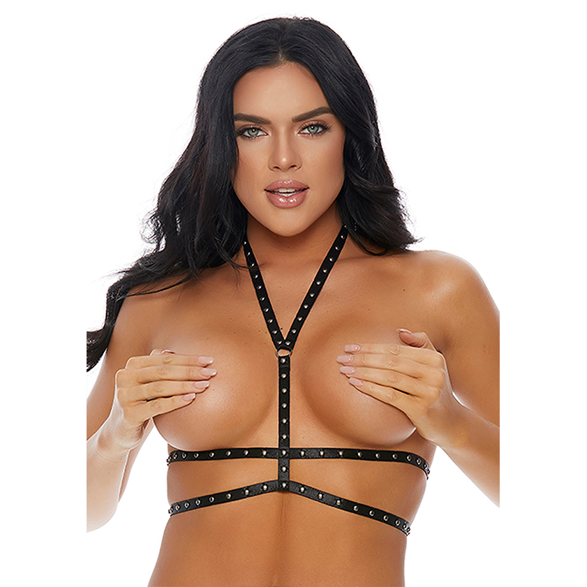 Forplay One Night Stud Harness Silver