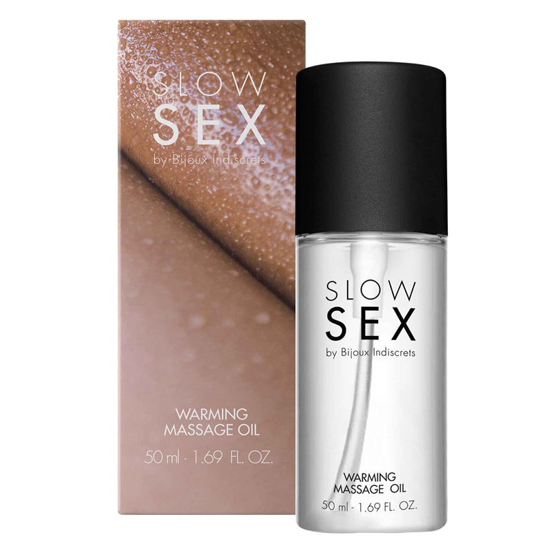 Slow Sex Warming Massage Oil 50ml