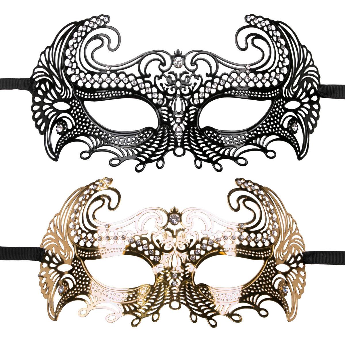 EasyToys Venetian Maskerademaske
