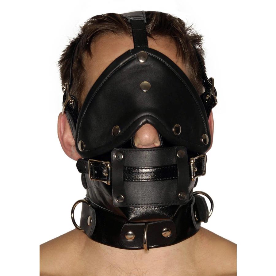 Strict Ansiktsharness Blindfold Gag