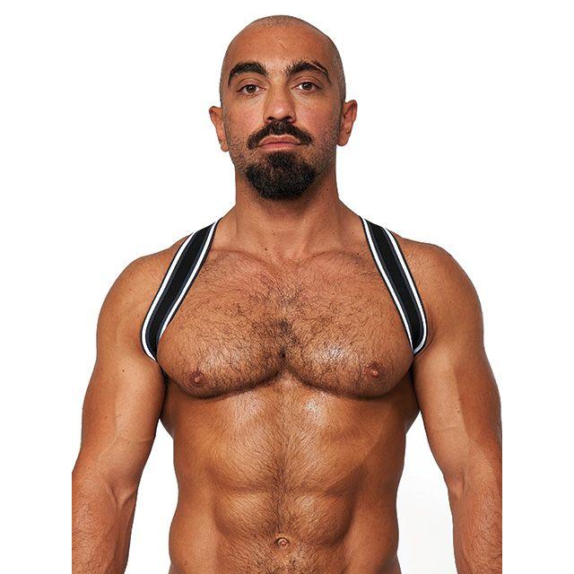 Mr.B Urban Club Sling Striped Harness