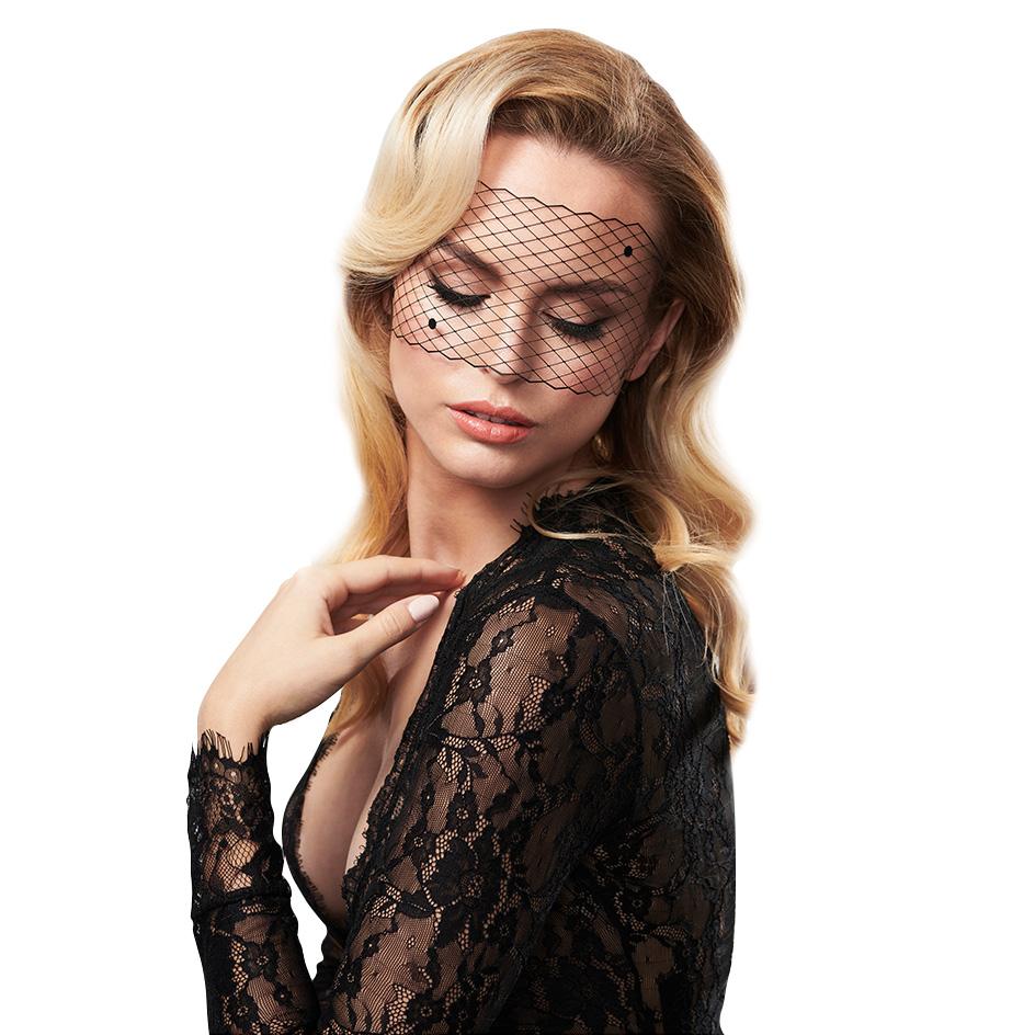 Bijoux Femme Fatale Øyemaske Netting