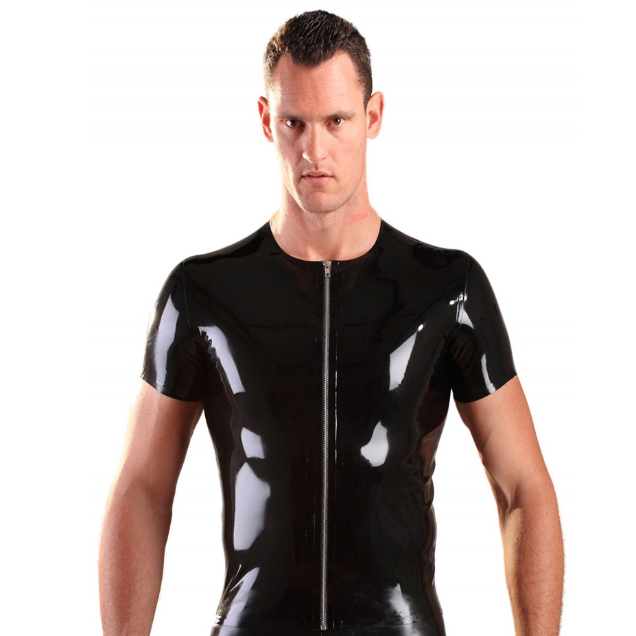 Honour Latex Zip Shirt