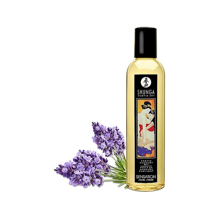 Shunga Lavendel Massasjeolje