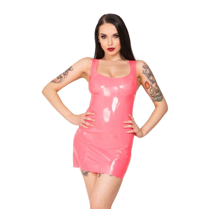Honour Latex Luna Vest Kjole