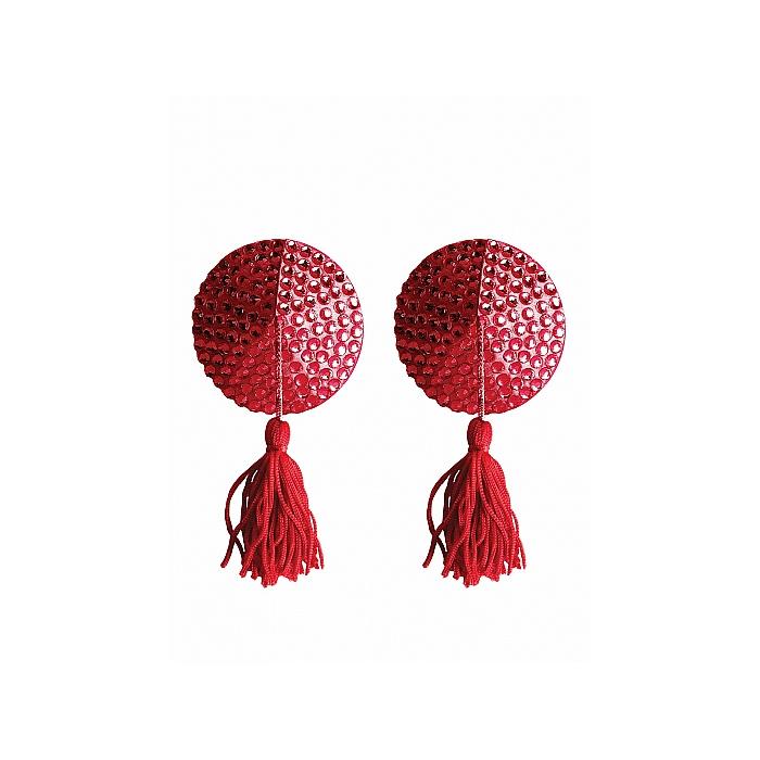 Nipple Tassels Runde Rød