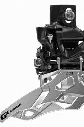 SRAM Front derailleur GX High direct  mount 2x11 speed Top pull Black, 36/24T