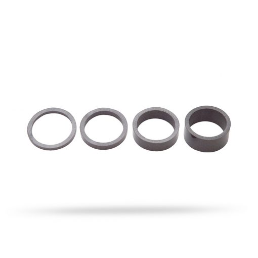 "Spacersett 1-1/8"" UD Carbon 1-1/8"" 3/5/10/15mm svart"