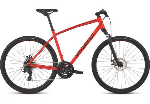 Specialized Crosstrail Mech Disc Rød L