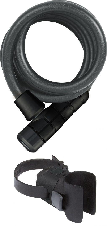 Abus Spirallås 180cm m/nøkkel