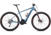 Turbo Levo Hardtail Storm Grey/Rocket Red M