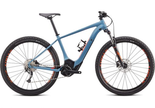 Turbo Levo Hardtail Storm Grey/Rocket Red L