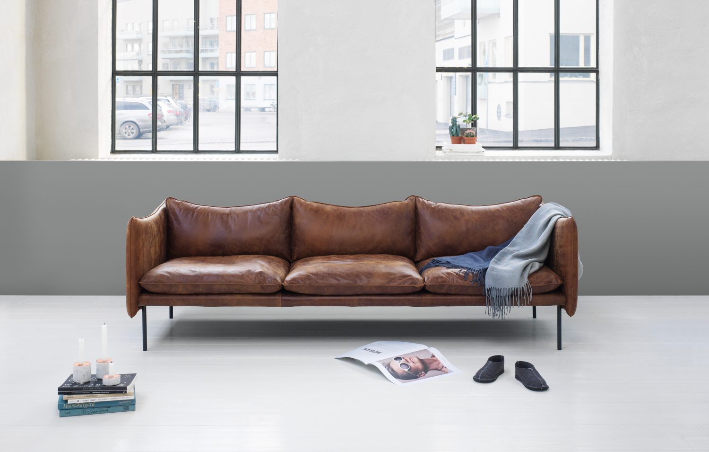 Tiki sofa fogia 3 seater vintageleather