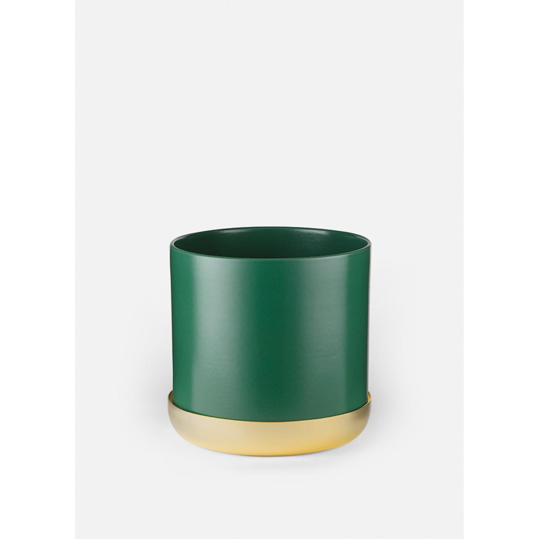 Nurture Planter w. Tray | Large | Green