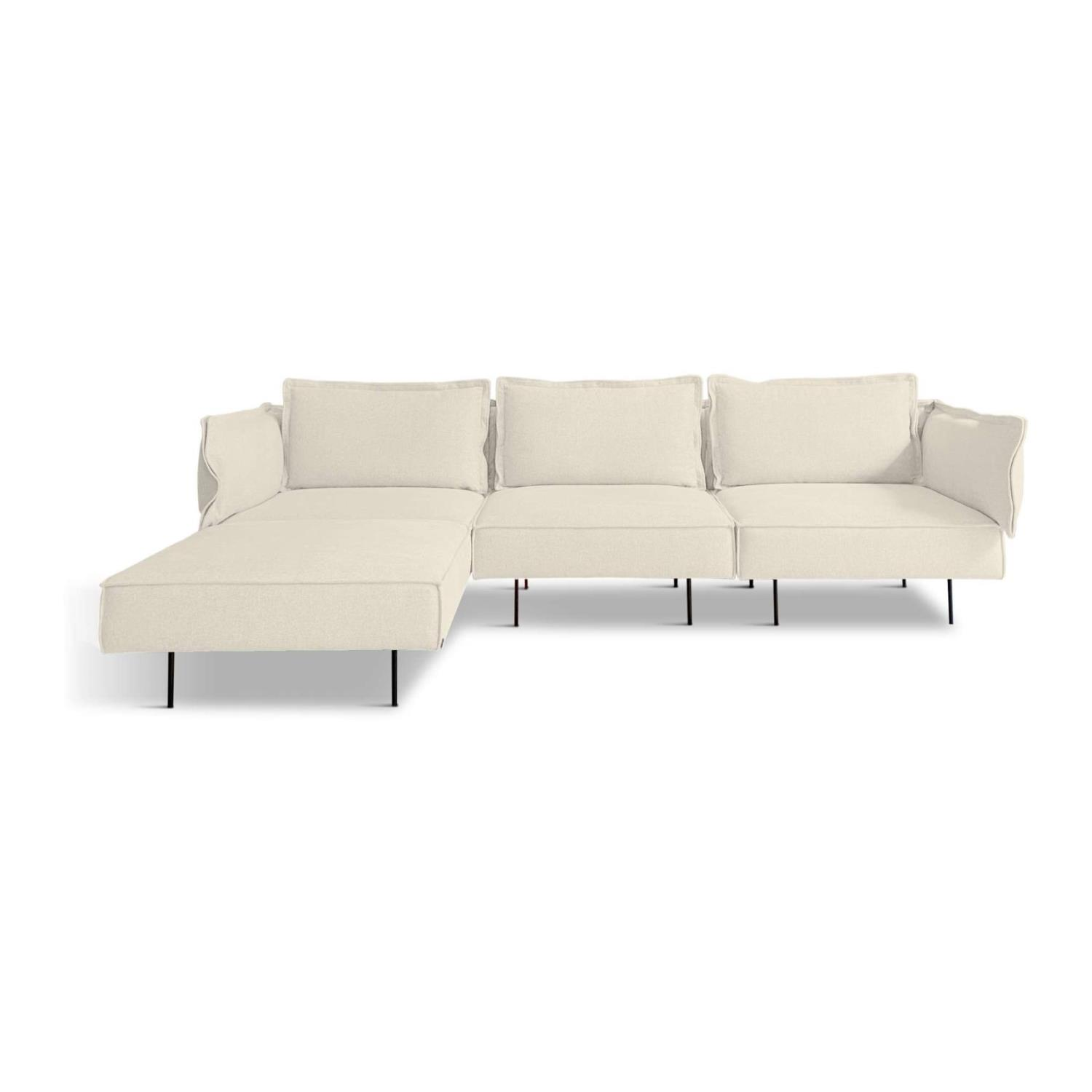 3-Seat Modular Sofa With Chaise