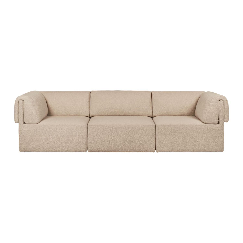 Wonder Sofa | Fullpolstret | 3- Seter m/ Armlene | 280x95