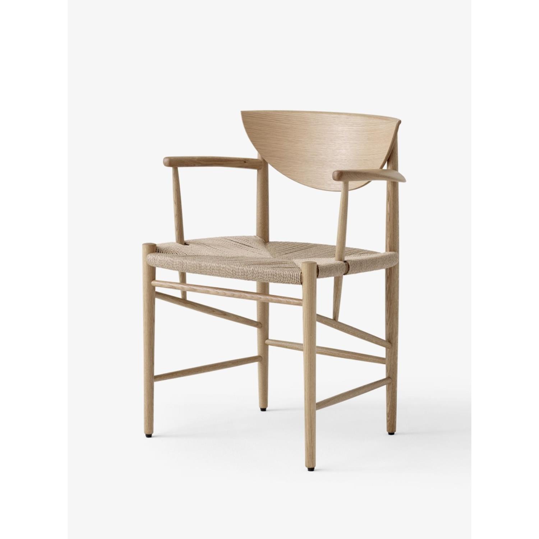 HM4 | Drawn Spisestol w. armrest