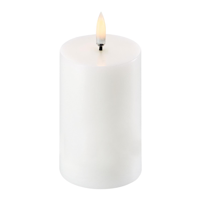 Pillar Candle | Nordic White | Ø5 x 8 cm