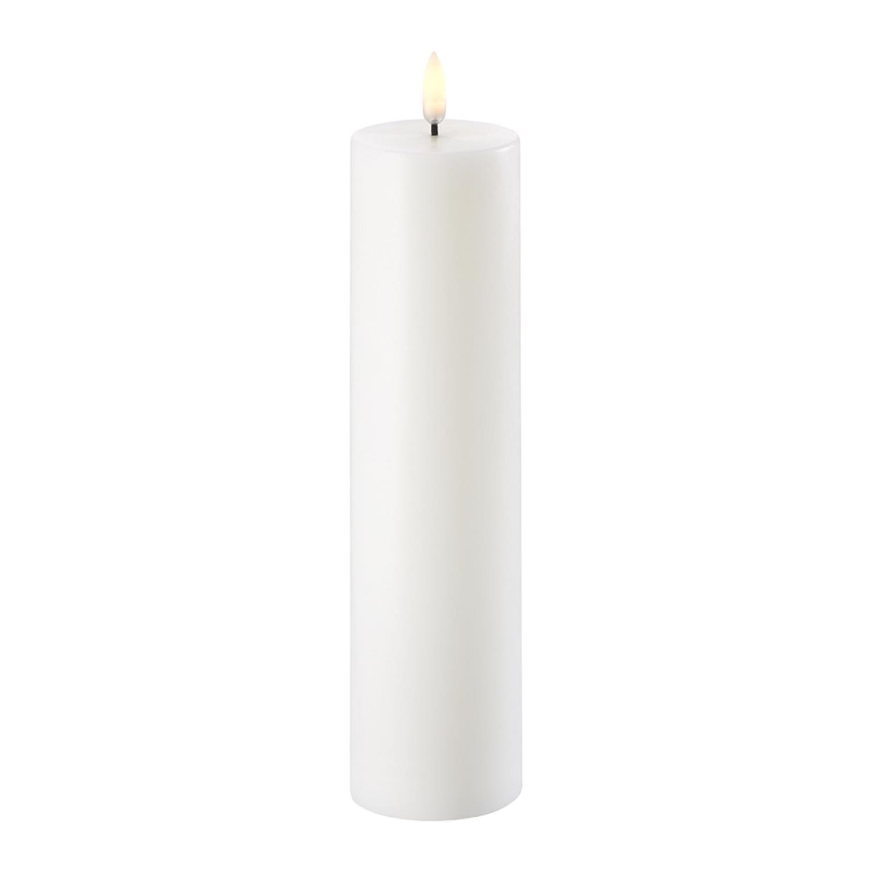 Pillar Candle | Nordic White | Ø6 x 22 cm