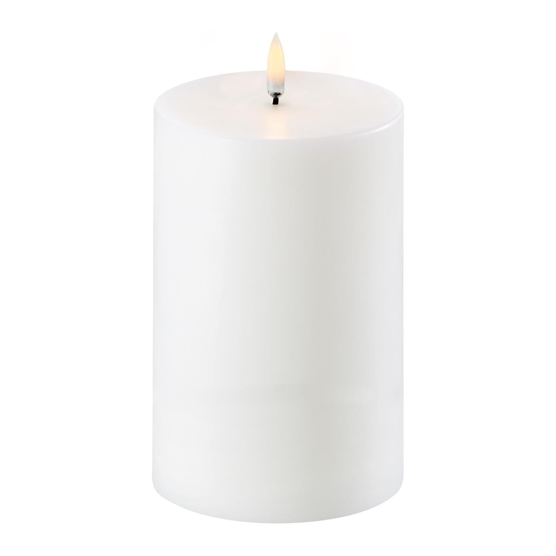 Pillar Candle | Nordic White | Ø10 x 15 cm