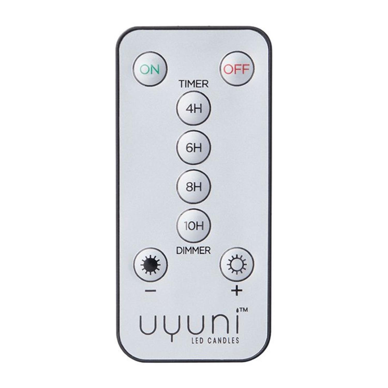 Remote control | On/Off | 3x Dimmer