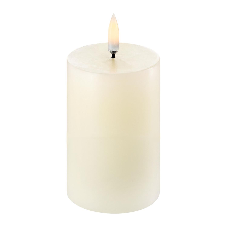 LED Pillar Candle | Ivory | Ø5 x 8 cm