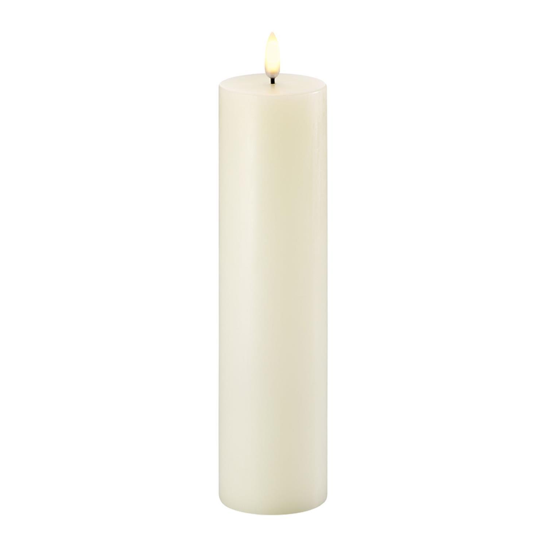 LED Pillar Candle | Ivory | Ø5 x 22 cm