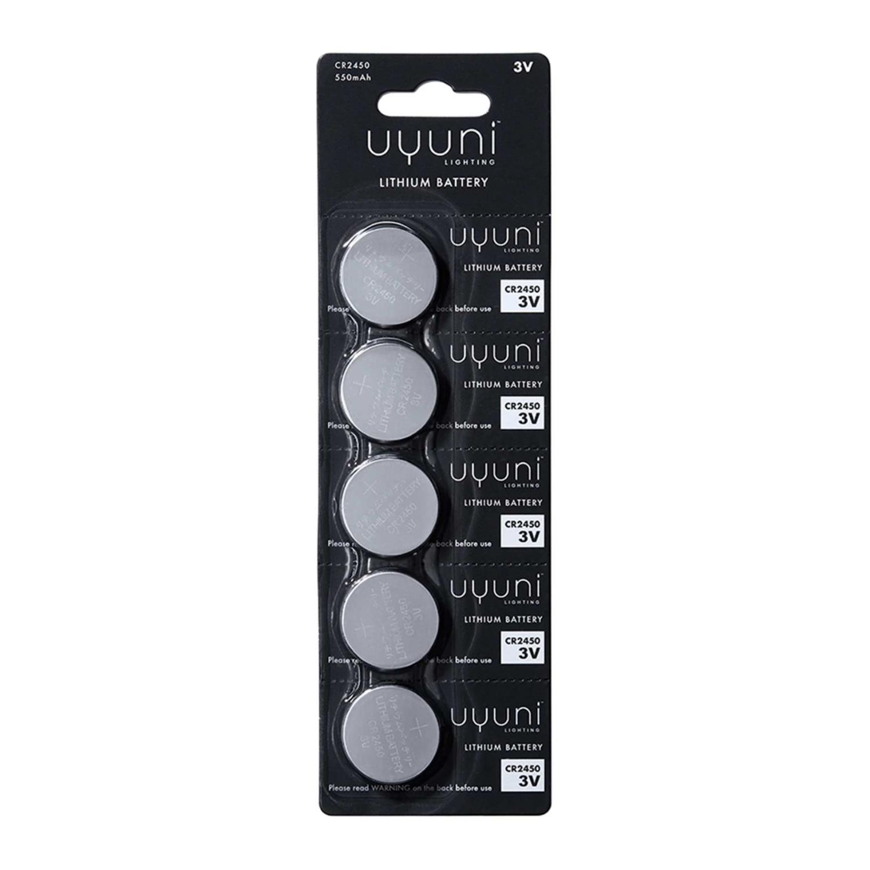 Lithium battery | CR2450 | 3V | 550mAh | 5 pack