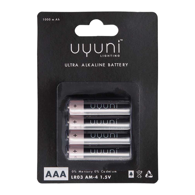 AAA Battery | 1,5V | 1000mAh | 4 pack
