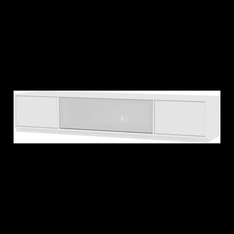 Montana Octave 2 TV-Benk | 3cm sokkel | Quickship