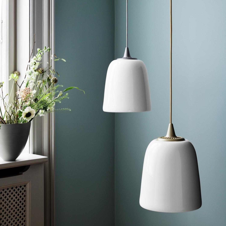 Dogu Taklampe Silver Ø24 cm | Utstillingssalg