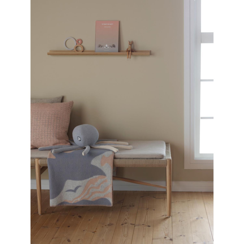 Fugl og fisk | Babypledd | 100x67