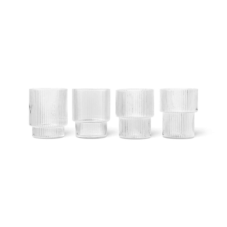 Ripple Glass | 4stk sett