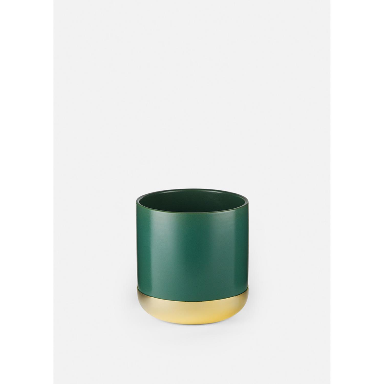 Nurture Planter w. Tray | Small | Green
