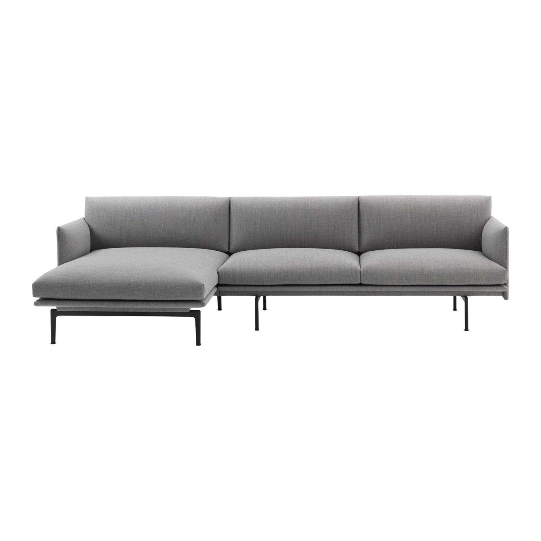 Outline 3 seter Sofa | Venstre Sjeselong