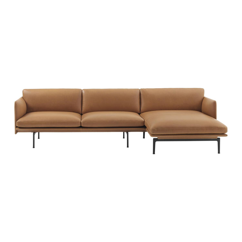 Outline 3-seter Sofa | Høyre Sjeselong