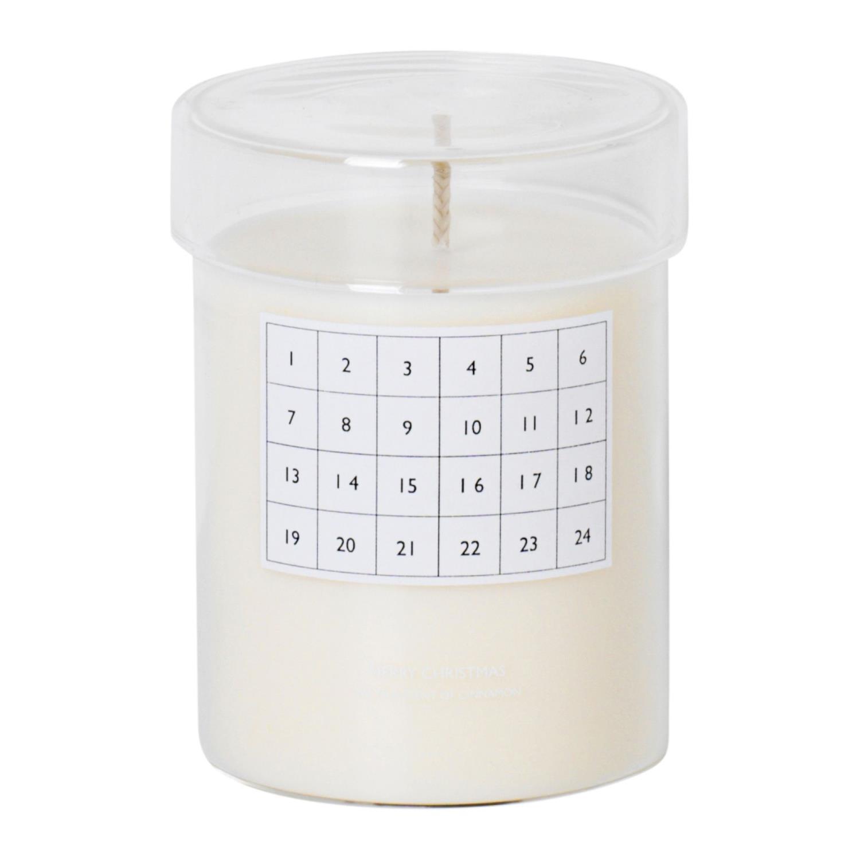 Duftende Kalenderlys | Hvit
