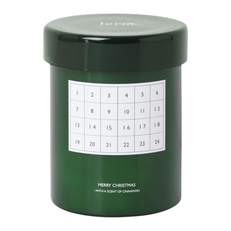 Duftende Kalenderlys | Grønn