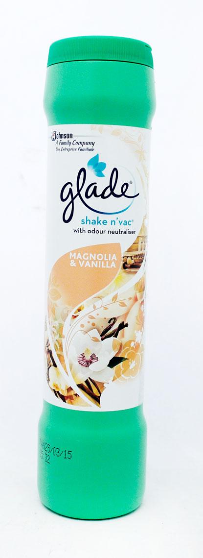 Johnson's Glade Shake'N'Vac Magnolia&Vanilla 500g