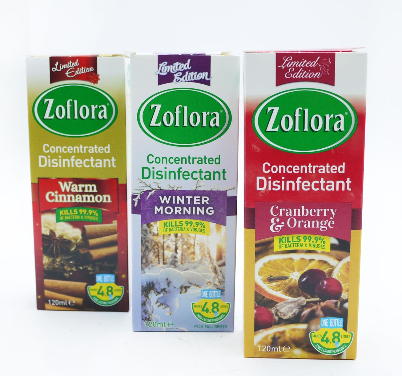 Zoflora Winter Disinfectant 120ml Div.Typer