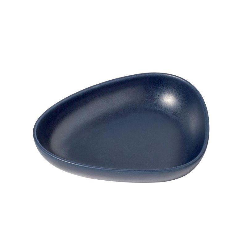 Dyp tallerken blå