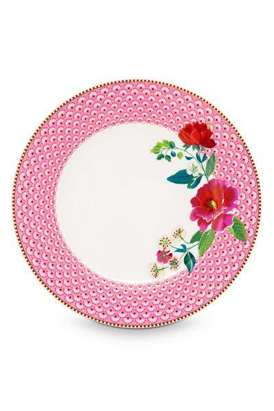 Middags Tallerken Rosa Ø 26,5