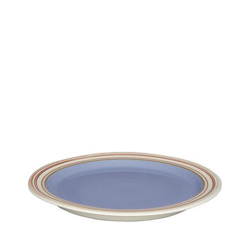 Tallerken 22,5 cm blå